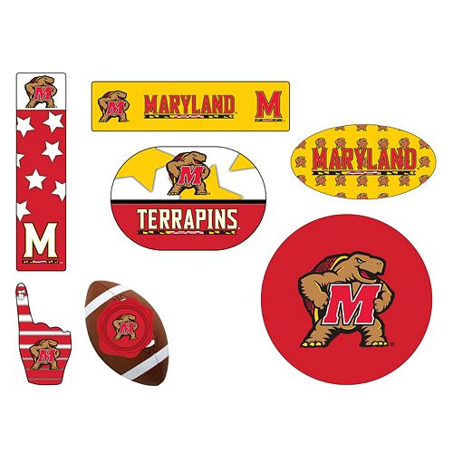 Maryland Terrapins Tailgate 6-Piece Magnet Set