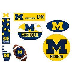 Michigan Wolverines Tailgate 6-Piece Magnet Set