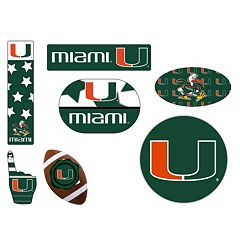 Miami Hurricanes Tailgate 6-Piece Magnet Set