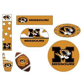 Missouri Tigers Tailgate 6-Piece Magnet Set