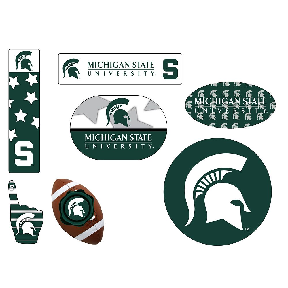Michigan State Spartans Tailgate 6-Piece Magnet Set