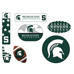 Michigan State Spartans Tailgate 6 pc Magnet Set