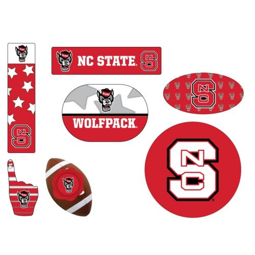 North Carolina State Wolfpack Tailgate 6-Piece Magnet Set