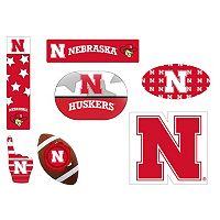Nebraska Cornhuskers Tailgate 6-Piece Magnet Set