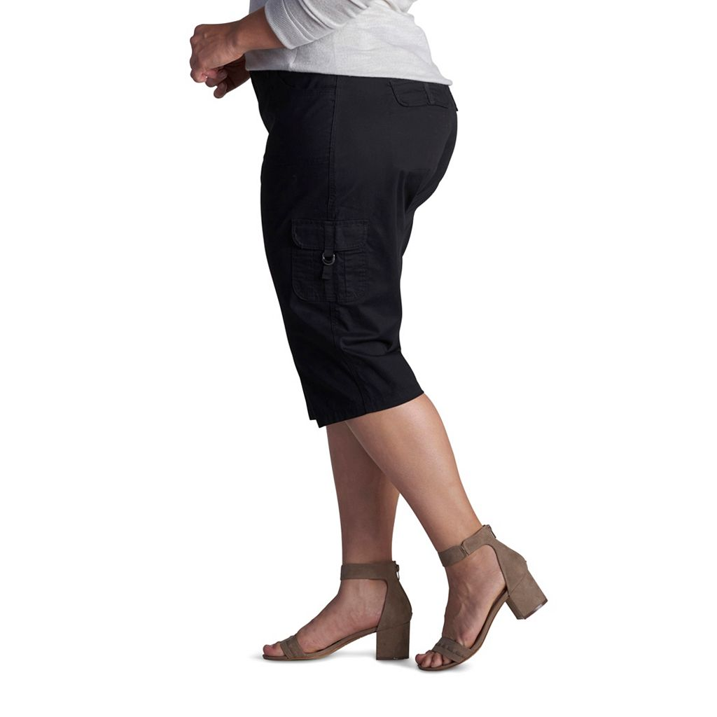 Plus Size Lee Edy Skimmer Capris