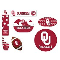 Oklahoma Sooners Tailgate 6-Piece Magnet Set