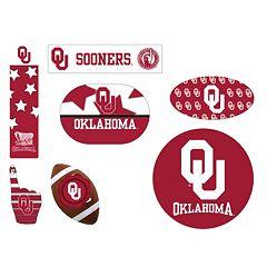 Oklahoma Sooners Tailgate 6-Piece Magnet Set