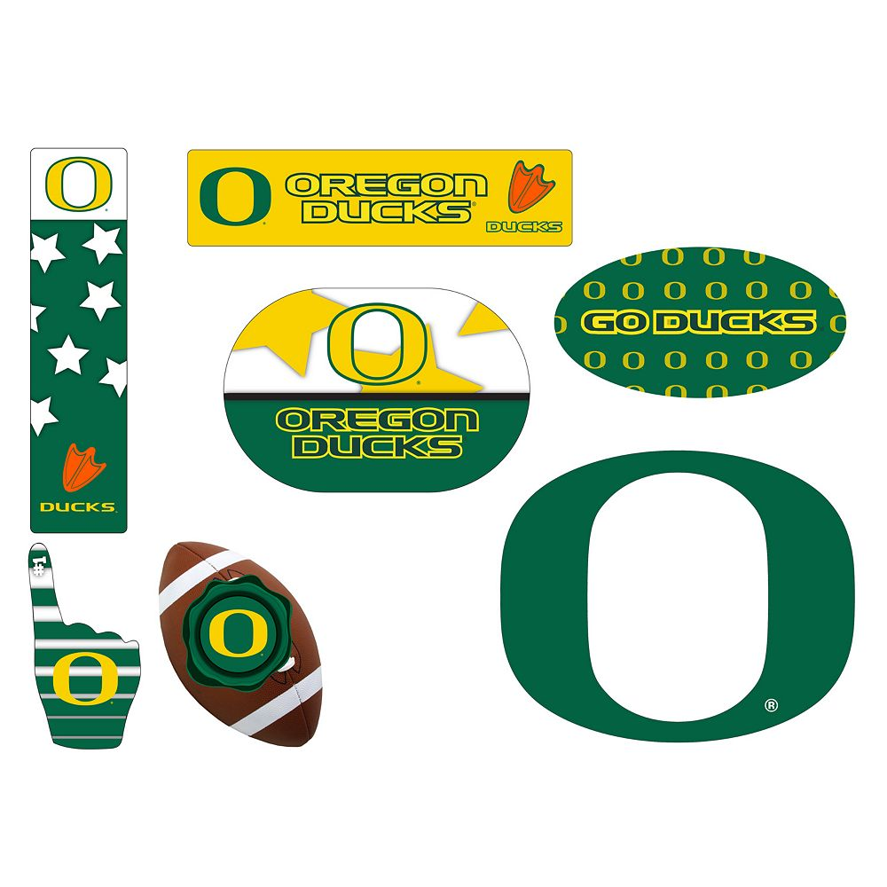 Oregon Ducks Tailgate 6-Piece Magnet Set