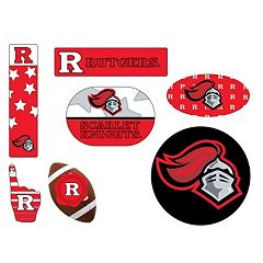 Rutgers Scarlet Knights Tailgate 6 pc Magnet Set