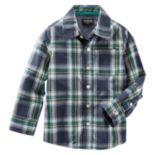 Toddler Boys OshKosh B'gosh® Button-Front Shirt