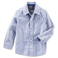 Toddler Boys OshKosh B'gosh® Button-Front Shirt