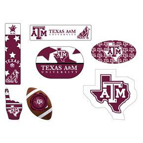 Texas A&M Aggies Tailgate 6-Piece Magnet Set