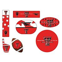 Texas Tech Red Raiders Tailgate 6-Piece Magnet Set