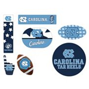 North Carolina Tar Heels Tailgate 6 pc Magnet Set