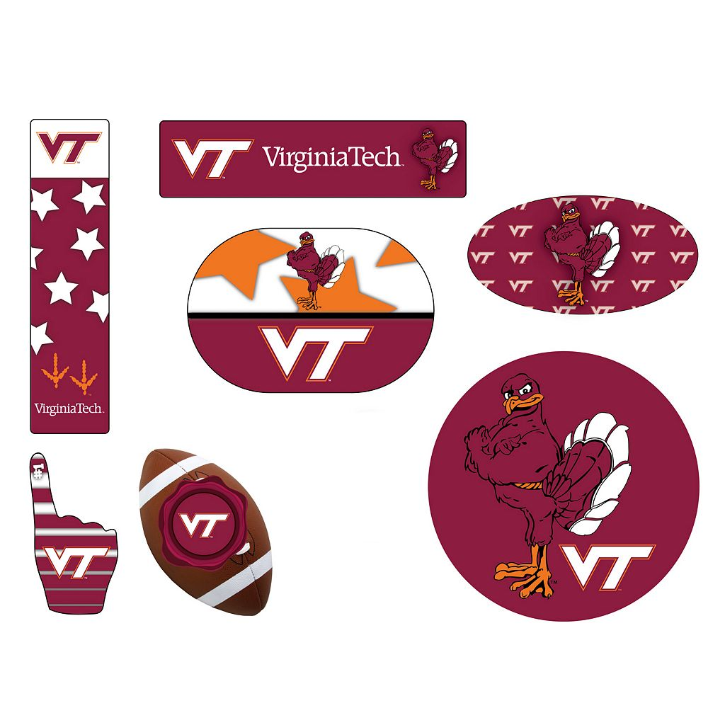 Virginia Tech Hokies Tailgate 6-Piece Magnet Set
