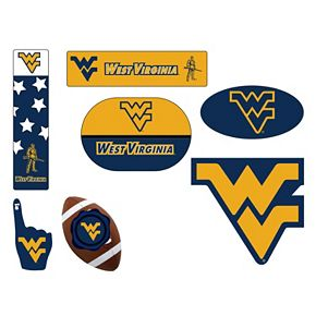 West Virginia Mountaineers Tailgate 6-Piece Magnet Set