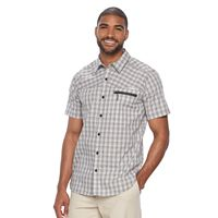 Men's Columbia Sycamore Falls Classic-Fit Plaid Stretch Button-Down Shirt