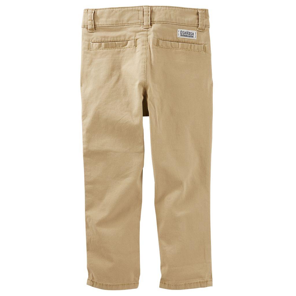 Boys 4-8 OshKosh B'gosh® Stretch Twill Pants