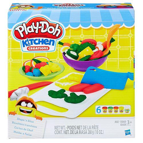 Play-Doh Kitchen Creations Shape 'n Slice Set