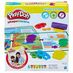 Play-Doh Shape & Learn Shape a Story Set