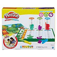Play-Doh Shape & Learn Make & Measure Set