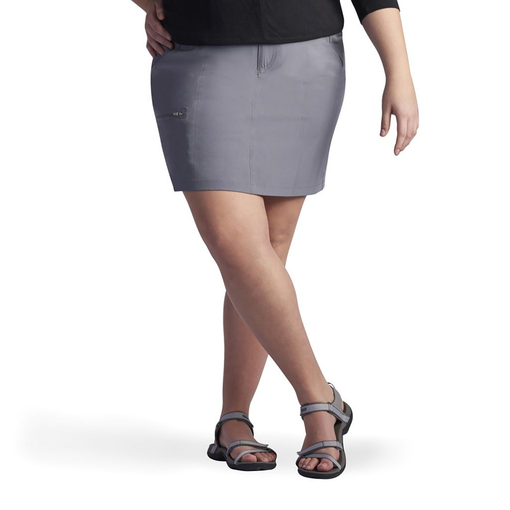 Plus Size Lee Everly Active Skort