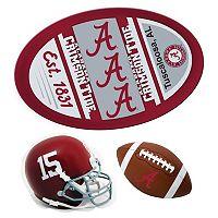 Alabama Crimson Tide Helmet 3 pc Magnet Set