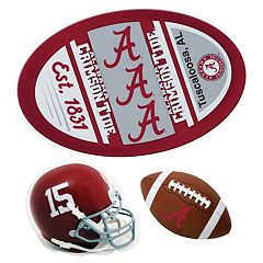 Alabama Crimson Tide Helmet 3-Piece Magnet Set