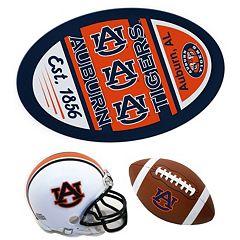 Auburn Tigers Helmet 3 pc Magnet Set