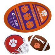 Clemson Tigers Helmet 3 pc Magnet Set