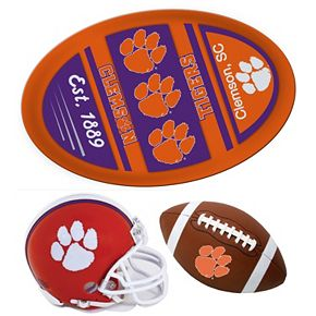 Clemson Tigers Helmet 3-Piece Magnet Set