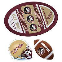 Florida State Seminoles Helmet 3 pc Magnet Set