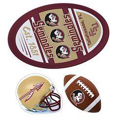 Florida State Seminoles Helmet 3-Piece Magnet Set
