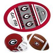 Georgia Bulldogs Helmet 3 pc Magnet Set