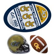 Georgia Tech Yellow Jackets Helmet 3 pc Magnet Set