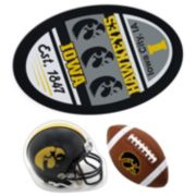 Iowa Hawkeyes Helmet 3-Piece Magnet Set
