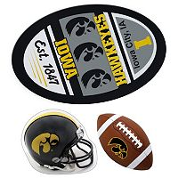 Iowa Hawkeyes Helmet 3 pc Magnet Set