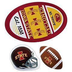 Iowa State Cyclones Helmet 3 pc Magnet Set