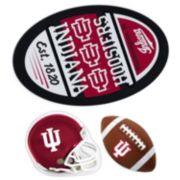 Indiana Hoosiers Helmet 3-Piece Magnet Set