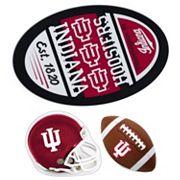 Indiana Hoosiers Helmet 3 pc Magnet Set