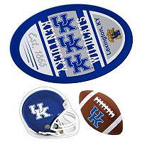 Kentucky Wildcats Helmet 3-Piece Magnet Set