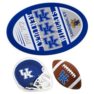 Kentucky Wildcats Helmet 3-Piece Magnet Set