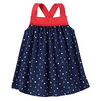 Baby Girl Jumping Beans® Patriotic Pom Tank Top
