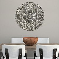 Stratton Home Decor Medallion Metal Wall Decor