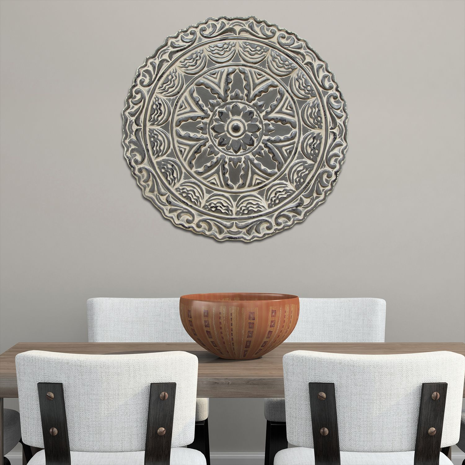 Ordinaire Stratton Home Decor Medallion Metal Wall Decor