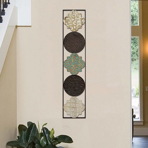 Stratton Home Decor Geometric Metal Wall Decor