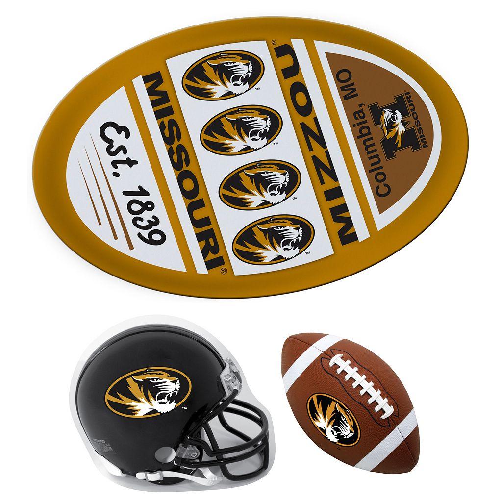Missouri Tigers Helmet 3-Piece Magnet Set