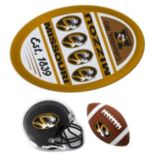 Missouri Tigers Helmet 3-Piece Magnet Set