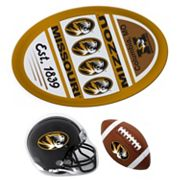Missouri Tigers Helmet 3 pc Magnet Set