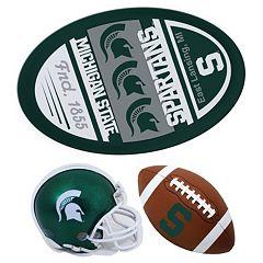 Michigan State Spartans Helmet 3-Piece Magnet Set